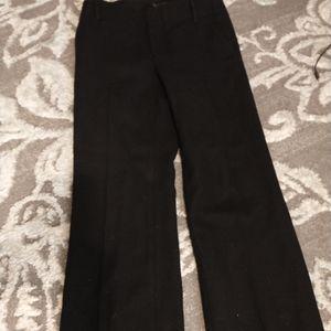 ❄️🍁Banana Republic black Wool Trousers sz 0